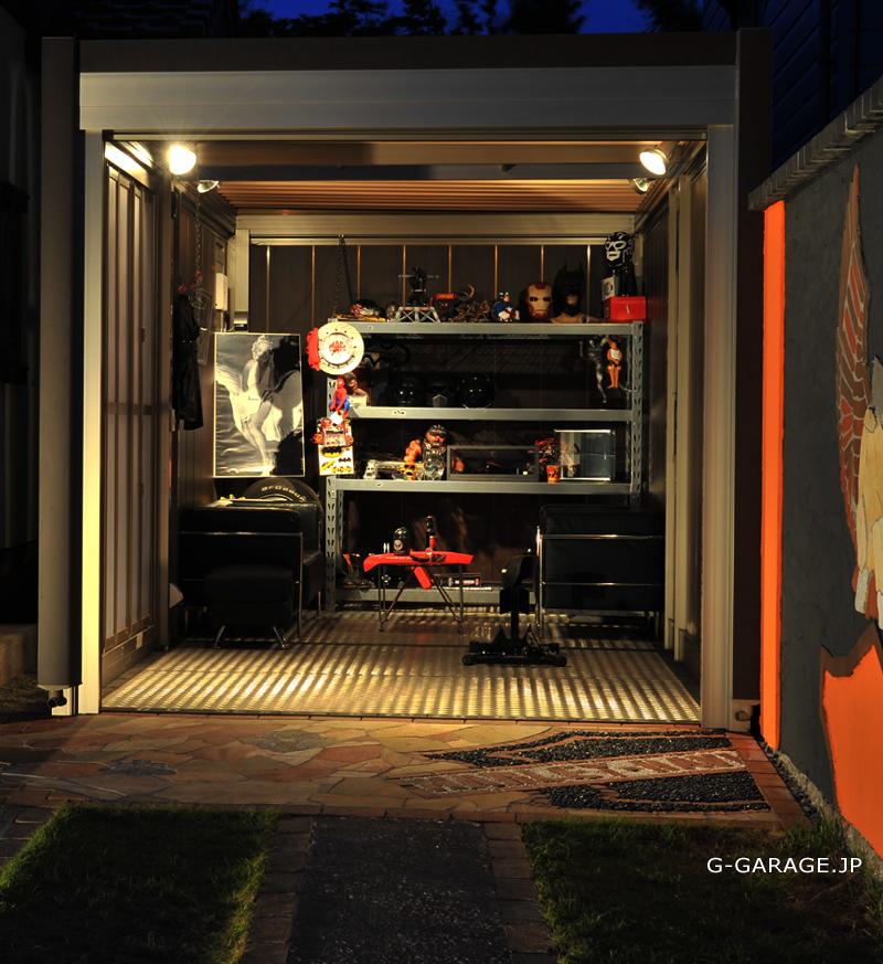 バイクガレージ&カーガレージ(スタイルコート・イナバ・タクボ・ヨドコウ)の施工・販売|千葉県鎌ケ谷市のG-GARAGE